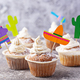 Cupcakes for celebrating Mexican party fiesta - PhotoDune Item for Sale