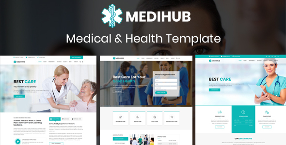 MediHub - Medical & Health Template