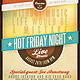 Hot Friday Night Flyer - GraphicRiver Item for Sale