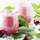 milkshake or smoothies with fresh berry - PhotoDune Item for Sale