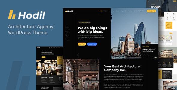Super Hodil - Architecture Agency WordPress Theme
