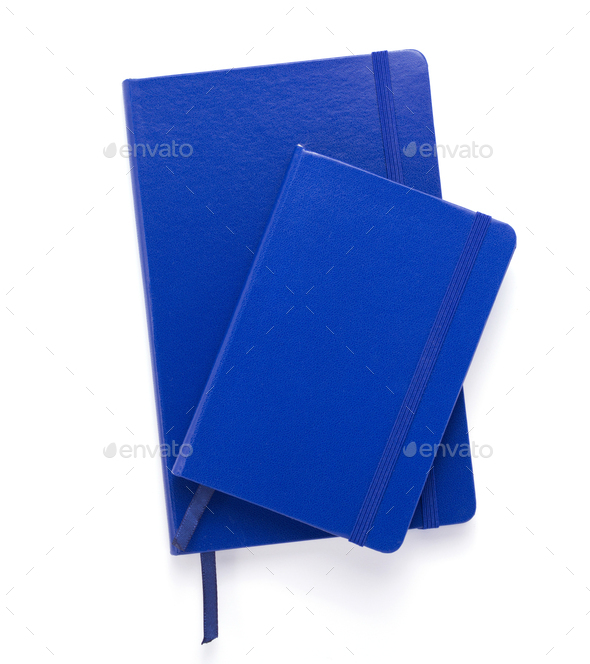 notepad or notebook paper at white background - Stock Photo - Images