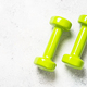Dumbbells on white background top view - PhotoDune Item for Sale