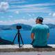 Summer holiday visiting Greece. Male freelance photographer enjoying capturing time lapse moving - PhotoDune Item for Sale