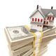 Small House on Stacks of Hundred Dollar Bills - PhotoDune Item for Sale