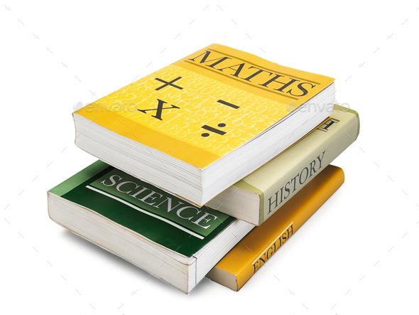 Study Books - Stock Photo - Images