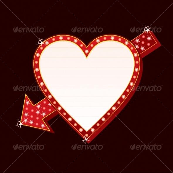 Neon heart - Valentines Seasons/Holidays