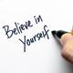 Believe in yourself typography - PhotoDune Item for Sale