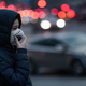 Polluted Air in the City. Wearing protective Mask - PhotoDune Item for Sale