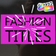 Juicy Fashion Titles | FCPX - VideoHive Item for Sale