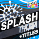 Cartoon Splash FX And Titles | FCPX - VideoHive Item for Sale