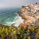 Sintra, Lisbon, Portugal. Azenhas do Mar white village landmark on the cliff and Atlantic ocean - PhotoDune Item for Sale