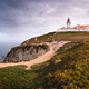 Travel to Portugal Sintra Region. View of the light house at Cabo da Roca or Cape Roca in sun light - PhotoDune Item for Sale