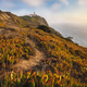 Sintra Portugal. Lighthouse on Cape Roca. Travel and hiking path lit by golden sunset light. Tourism - PhotoDune Item for Sale