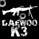 Daewoo K3 Machine Gun