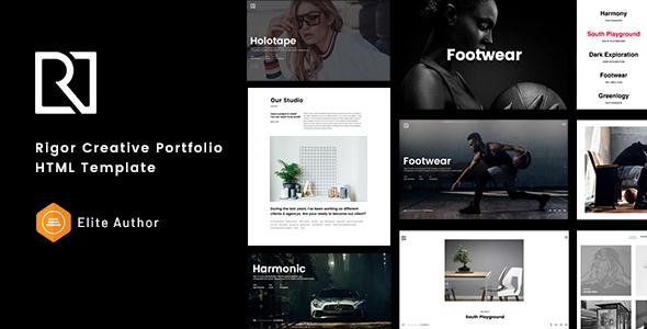 Rigor - Creative Portfolio HTML Template