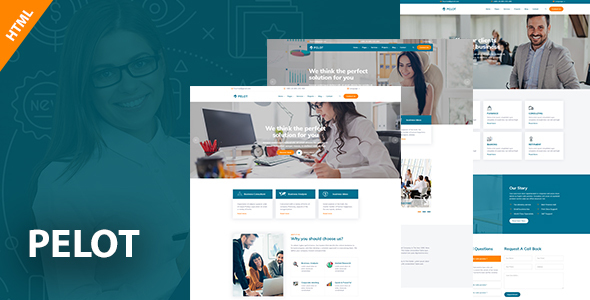 Extraordinary Pelot - Consulting, Business, Finance HTML5 Template