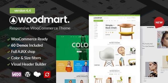 Fabulous WoodMart - Responsive WooCommerce WordPress Theme