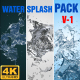 Water Splash Pack V 1 - VideoHive Item for Sale