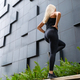 Active Woman Performing Step Workout Outdoor in the City - PhotoDune Item for Sale