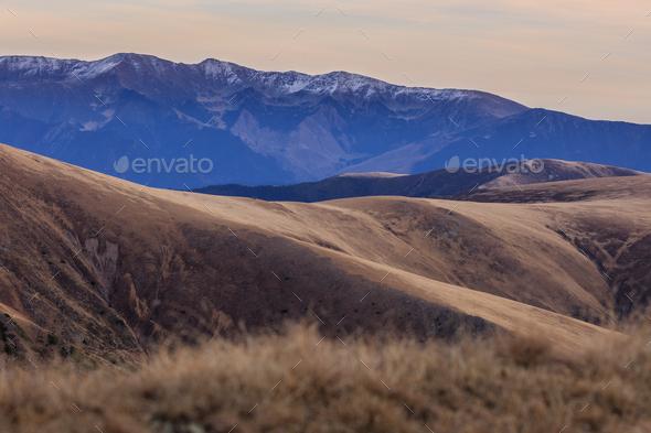 Fagaras Mountains, Romania - Stock Photo - Images
