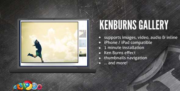 Ken Burns Media Gallery / Slideshow - CodeCanyon Item for Sale
