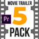 Movie Trailer Pack v1.0 • MOGRT for Premiere Pro - VideoHive Item for Sale