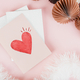 Cute valentines day card design - PhotoDune Item for Sale