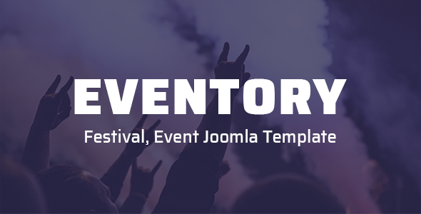 Eventory - Festival, Event Joomla Template by templaza