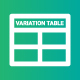 Product Variation Table of WooCommerce