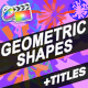 Abstract Shapes And Cartoon Titles | FCPX - VideoHive Item for Sale