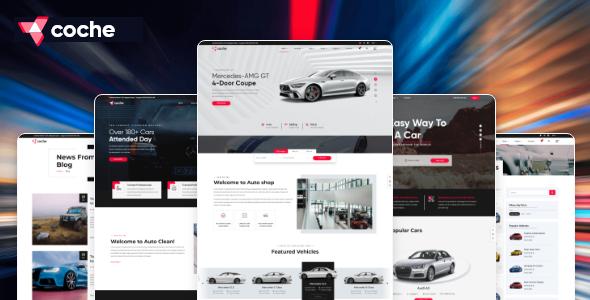 Coche - Car servicing HTML Template
