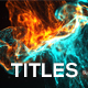 Fluid Particle Titles - VideoHive Item for Sale