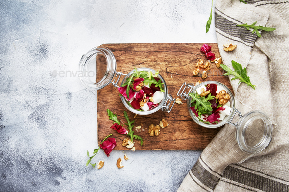 Beet or beetroot salad - Stock Photo - Images