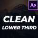 15 Clean Lower Thirds - VideoHive Item for Sale