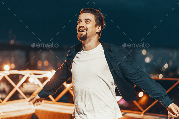 Portrait of a young man - Stock Photo - Images