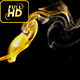 Gold Particles Background Loop - VideoHive Item for Sale