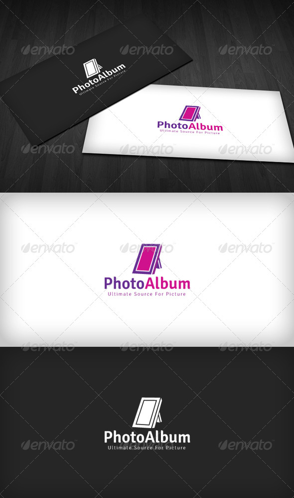 Photo Album Logo - Objects Logo Templates
