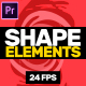 Shape Elements // MOGRT - VideoHive Item for Sale