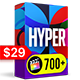 Hyper - Graphics Pack | Final Cut - VideoHive Item for Sale