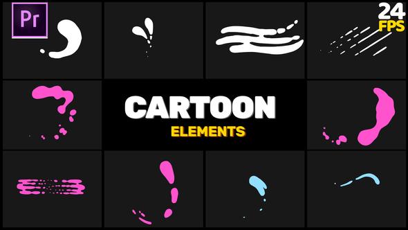 Cartoon Shape // MOGRT