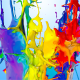 Multicolor Paint Crown Splash 4K - VideoHive Item for Sale