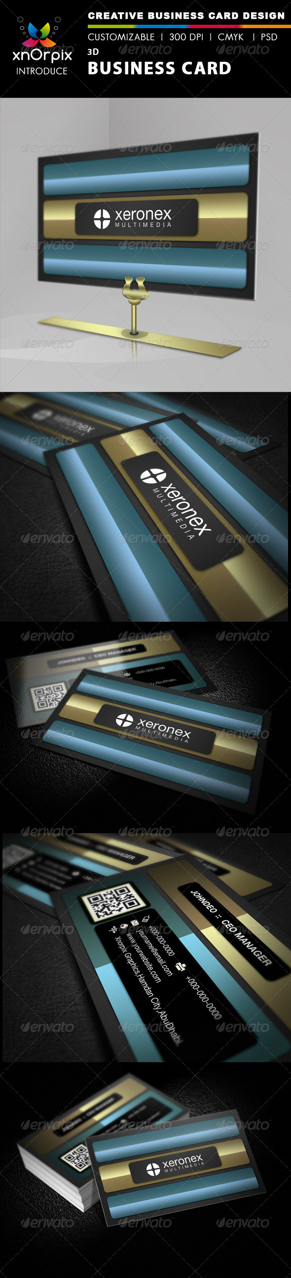 3D Business Card - Creative Business Cards