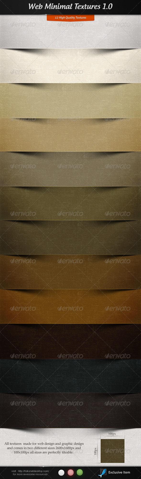Web Minimal Textures 1.0 - Paper Textures