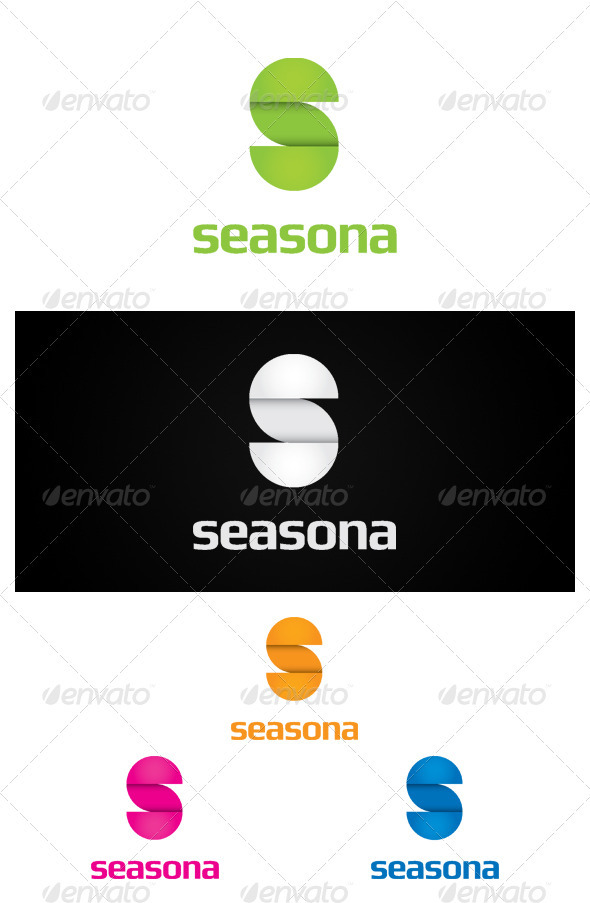 Seasona - Letters Logo Templates