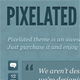 Pixelated theme (tumblr) Nulled