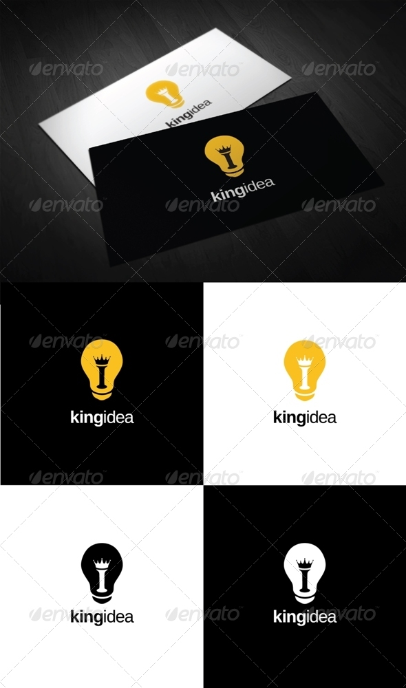 King Idea Logo - Symbols Logo Templates