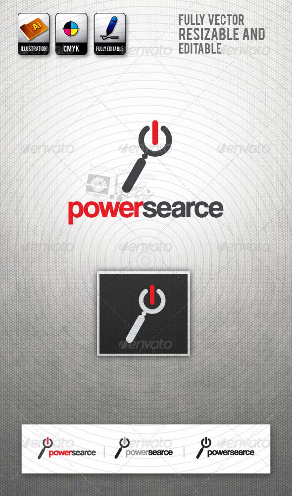 PowerSearce Logo Template - Symbols Logo Templates