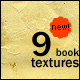 9 New Old Book Textures - GraphicRiver Item for Sale