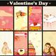 Love Card Vertical Set - GraphicRiver Item for Sale